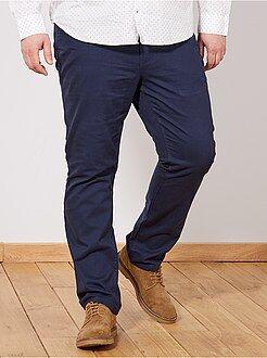 Pantalon - Pantalon comfort en gabardine