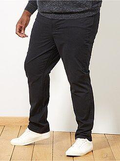 Pantalon comfort en gabardine - Kiabi