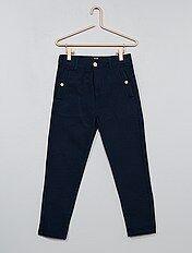 pantalon comfort texturé