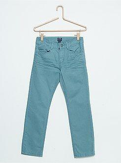 Pantalon coton coupe droite