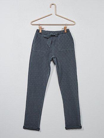 Pantalon coupe carotte - Kiabi