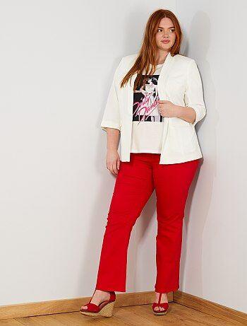 d087b736de153b Pantalon grande taille femme - pantalon grande taille pas cher | Kiabi