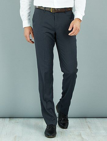 Pantalon de costume caviar stretch regular                                         gris Homme