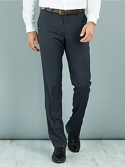 Pantalon - Pantalon de costume caviar stretch regular