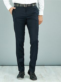 Pantalon - Pantalon de costume caviar stretch slim
