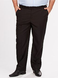Pantalon de costume droit en twill