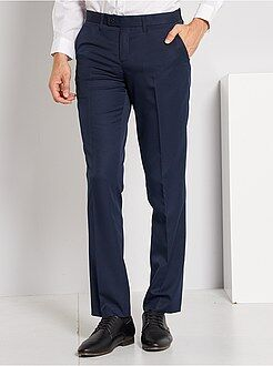 Costume - Pantalon de costume regular en twill - Kiabi