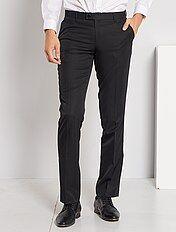 Pantalon de costume regular en twill