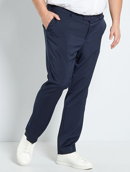 Pantalon de costume slim                                                     bleu marine