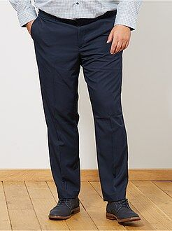 Costume - Pantalon de costume uni coupe droite - Kiabi