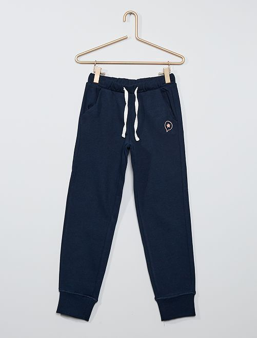 Pantalon de jogging éco-conçu                                                                 bleu marine