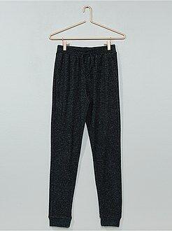 Pantalon de sport en molleton 'doudou' - Kiabi