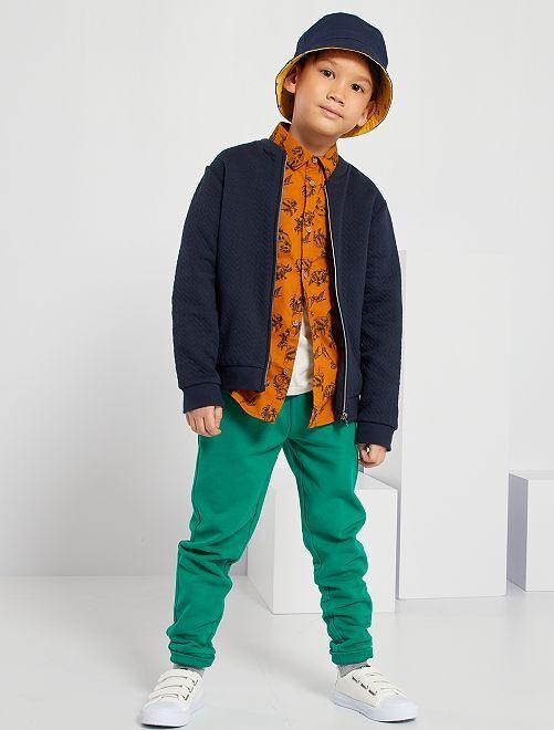 Pantalon de sport en molleton 'éco-conçu'                                                                                         vert