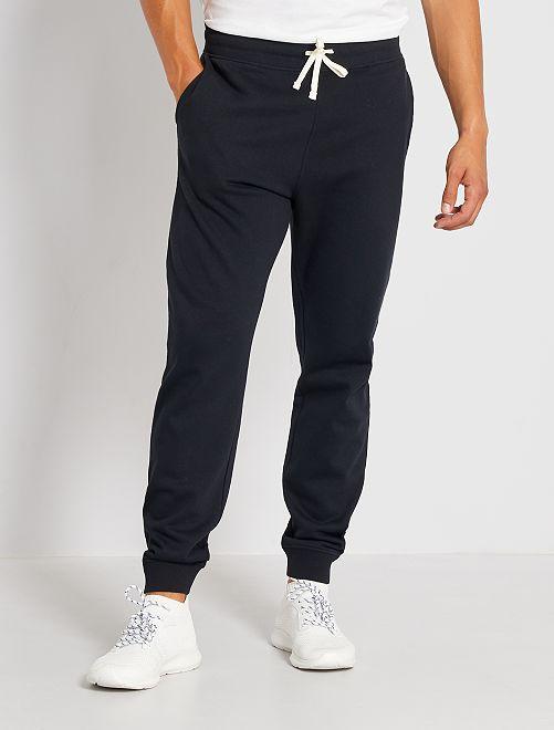 Pantalon de sport molletonné                                                                                         noir