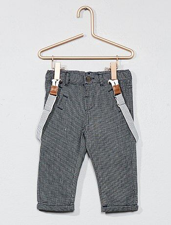 Pantalon doublé coton - Kiabi