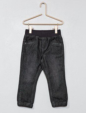 Pantalon doublé pur coton - Kiabi