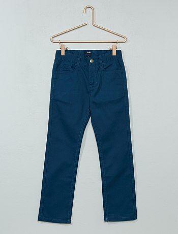 Pantalon droit en twill - Kiabi
