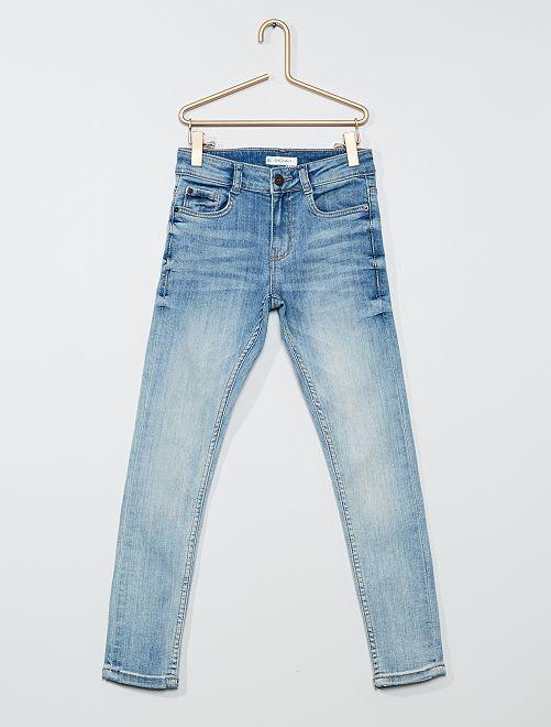 Pantalon en denim                                                     bleu