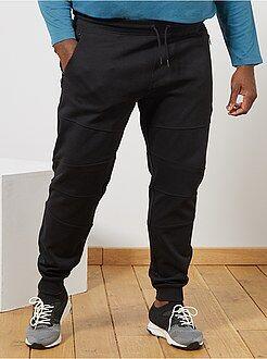 Pantalon de sport, jogging - Pantalon en molleton découpes genoux - Kiabi
