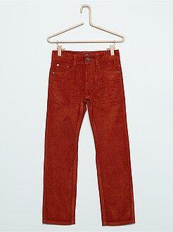 Pantalon - Pantalon en pur coton