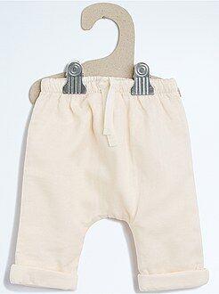 Pantalon en toile doublée