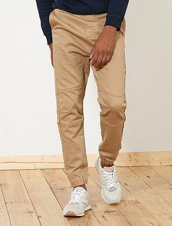Pantalon esprit jogging - Kiabi