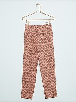 Pantalon, pantacourt - Pantalon léger à pinces