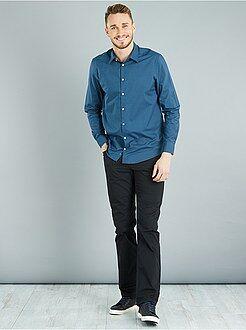 Homme du S au XXL Pantalon regular en twill de coton L36 +1m90