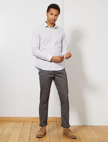 Homme du S au XXL - Pantalon regular toucher doux longueur US 32 - Kiabi