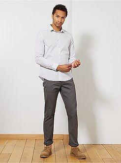 Homme du S au XXL Pantalon regular toucher doux longueur US 32