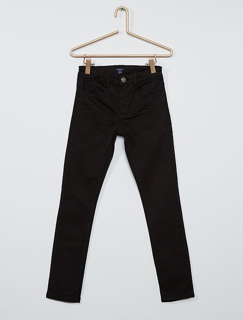 Pantalon skinny cinq poches                                                                                                                             noir