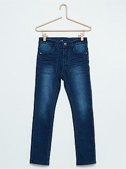 Pantalon skinny fit en coton stretch