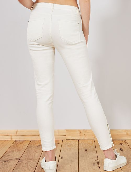 ... Pantalon Skinny Taille Haute Vue 7 ...