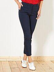 Pantalon skinny uni