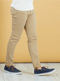 Pantalon slim 5 poches coton stretch