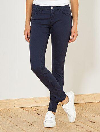 Femme du 34 au 48 - Pantalon slim 5 poches stretch - Kiabi