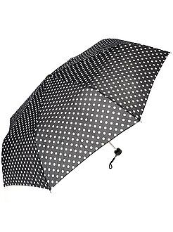 Accessoires pointure tu - Parapluie à pois