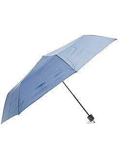 Accessoires bleu - Parapluie pliant bleu marine