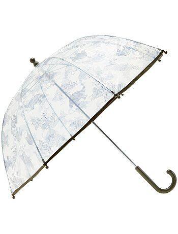 Parapluie transparent imprimé fantaisie - Kiabi
