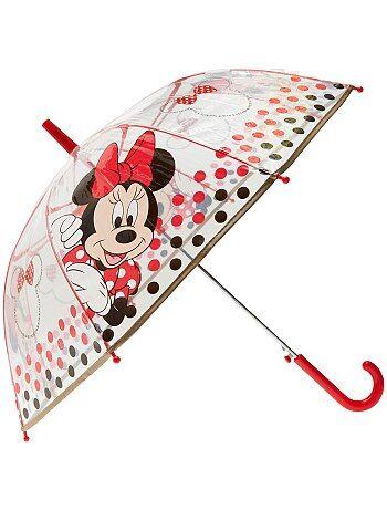Parapluie transparent 'Minnie' - Kiabi