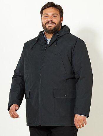 manteau veste homme grande taille homme kiabi. Black Bedroom Furniture Sets. Home Design Ideas