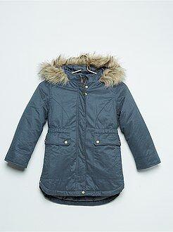 Manteau, veste - Parka toucher peau de pêche