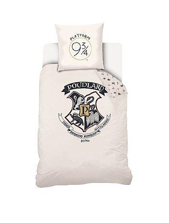 Parure de lit 1 personne 'Harry Potter' - Kiabi