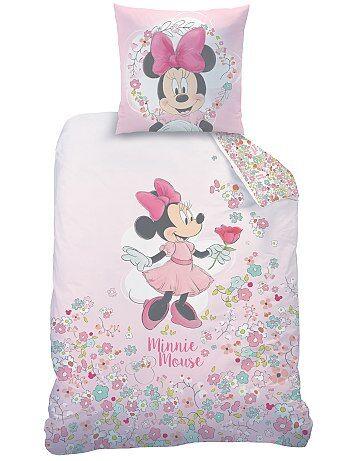 Parure de lit 1 personne 'Minnie' - Kiabi