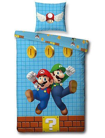 Parure de lit 1 personne 'Super Mario' - Kiabi