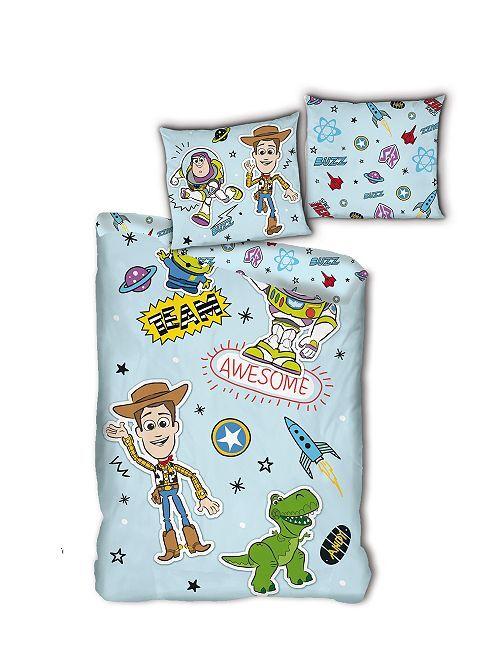 Parure de lit 1 personne 'Toy Story'                             bleu