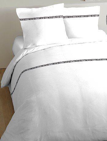 Parure de lit détail ethnique - Kiabi