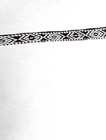 Parure de lit d tail ethnique linge de lit blanc kiabi 23 00 - Parure de lit ethnique ...