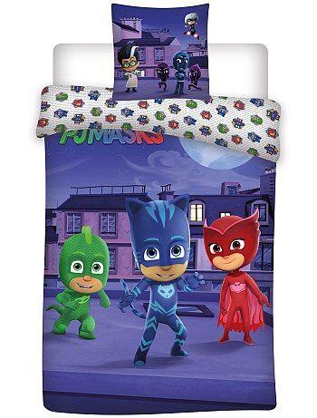 Parure de lit 'Pyjamasque' - Kiabi