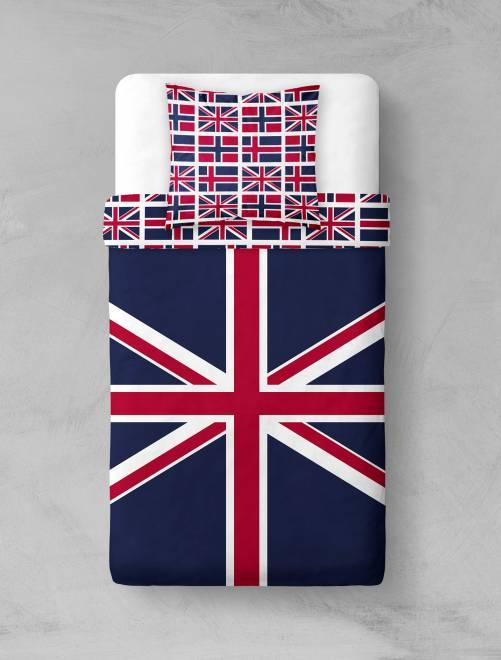 linge de lit union jack Parure de lit 'Union Jack' Linge de lit   bleu/rouge   Kiabi   16,00€ linge de lit union jack